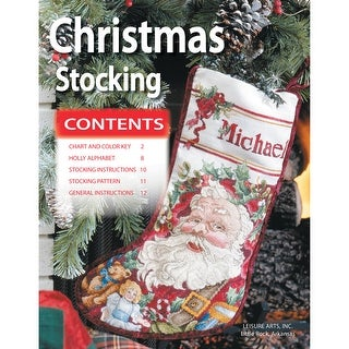 Leisure Arts-Christmas Stocking