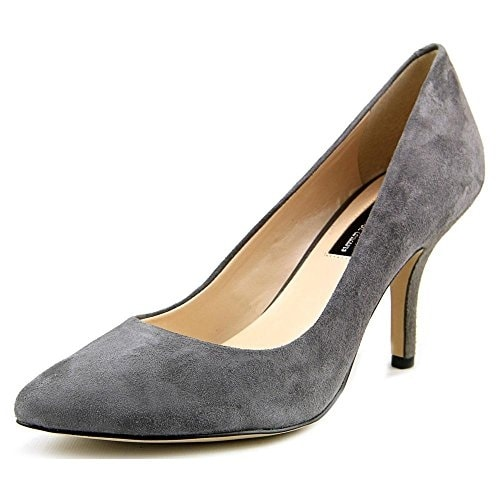 INC International Concepts Womens Zitah Leather Closed Toe Classic Pumps