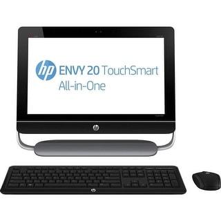"""HP ENVY 20-d113w 20"""" Touchsmart AIO Pentium G2020T 2.5GHz 4GB 1TB Win 10 Pro"""
