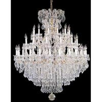Chandelier Crystal 37 Lights H52 x W60