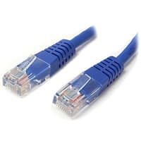Startech M45patch50bl 50Ft Molded Cat5e Utp Patch Cable, Blue