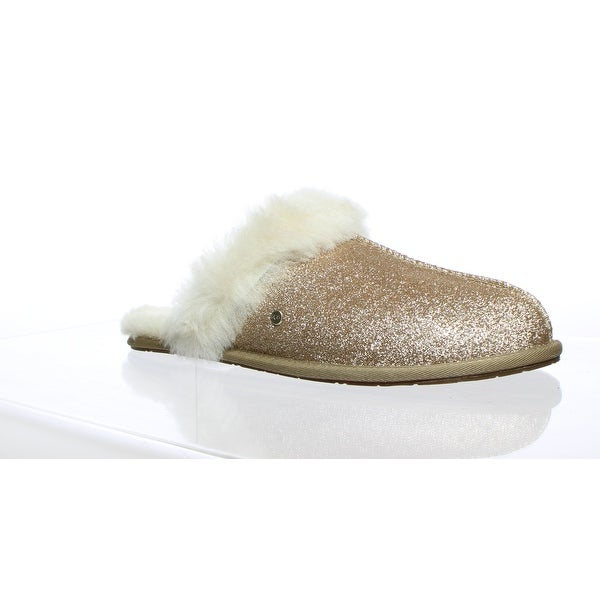 1a97c79bcd8 Shop UGG Womens Scuffette Ii Gold Mule Slippers Size 11 - On Sale ...