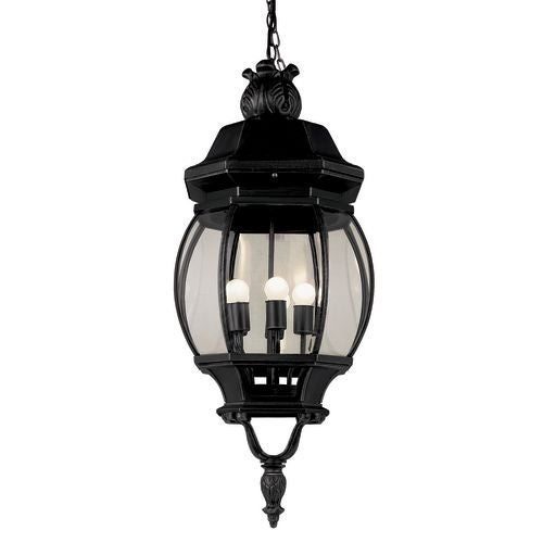 Trans Globe Lighting 4067 Four light Up Lighting Medium Outdoor Pendant from the Outdoor Collection