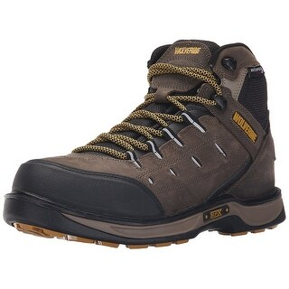 Wolverine Mens Edge LX Soft toe Lace Up Safety Shoes