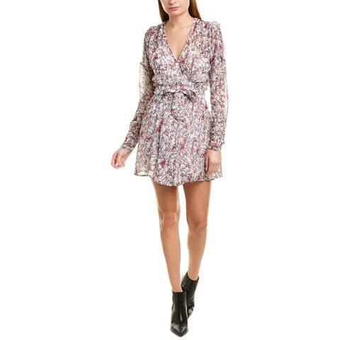 Iro Bustle Wrap Dress