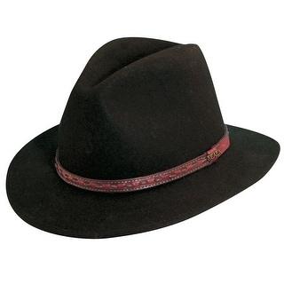 Scala Men's Wool Felt Safari Hat