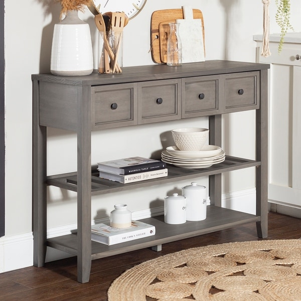 The Gray Barn 48-inch Solid Wood 2-Drawer Buffet. Opens flyout.