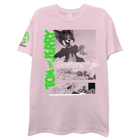 Tom & Jerry Odd Placement Shirt