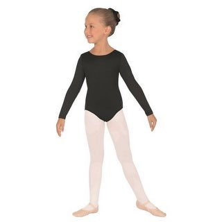 Eurotard Girls Micro Long Sleeve Leotard