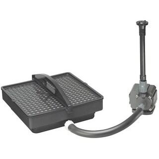 Danner 02215 500 GPH Pump & Filters For Medium Pond