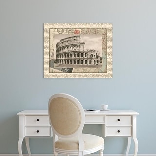 Easy Art Prints Vision Studio's 'Colosseum' Premium Canvas Art