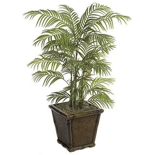 Autograph Foliages P-63170 4 ft. Areca Palm Green
