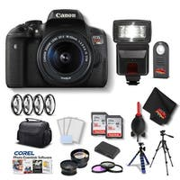 Canon EOS Rebel T6i DSLR Camera with 18-55mm Lens Kit
