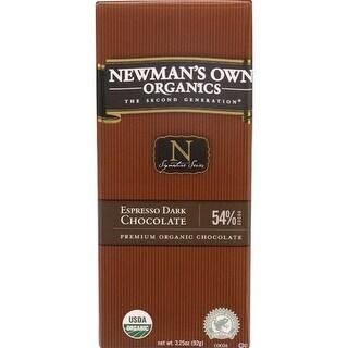 Newman's Own - Espresso Dark Chocolate Bars ( 12 - 3.25 OZ)