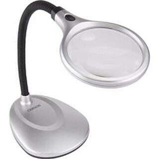 - Carson Deskbrite 200 Illuminated Magnifier & Desk Lamp