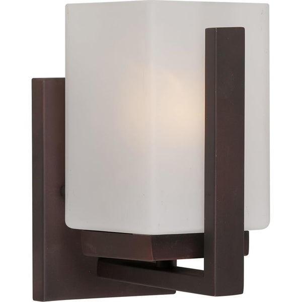 Forte Lighting 5087-01 1 Light Bathroom Sconce - Antique Bronze