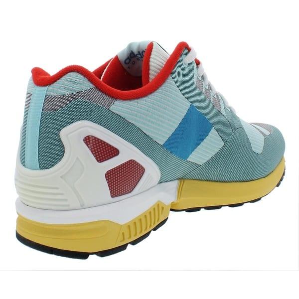 official photos b7dac 5433e Shop adidas Originals Mens ZX Flux Weave Fashion Sneakers ...