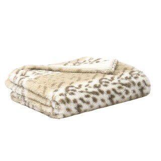 Link to EverGrace Leopard Faux Fur Throw Similar Items in Blankets & Throws