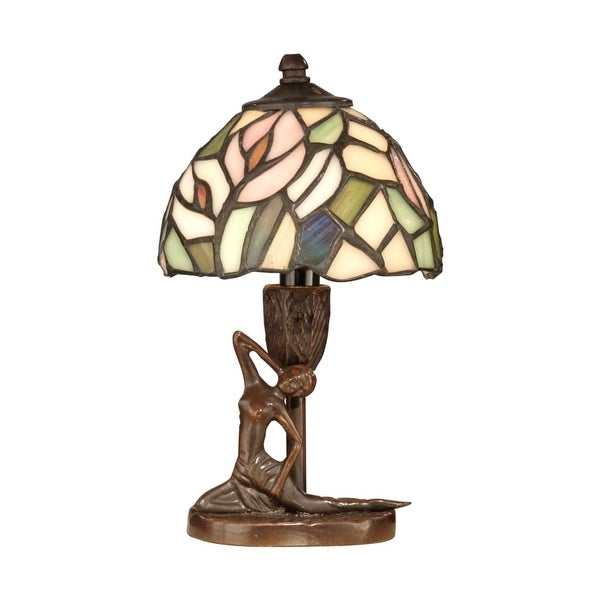 Dale Tiffany TA10607 Tiffany Lady Accent Lamp with 1 Light - n/a