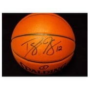 Signed Howard Dwight Spalding IndoorOutdoor Basketball autographed