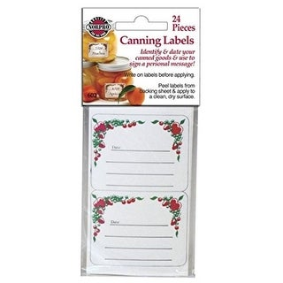 Link to Norpro 24 pc Square Canning Food Mason Jar Labels - Identify Date Canned Goods Similar Items in Kitchen Storage