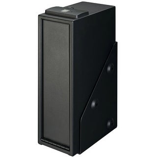 Stack-On QAS-1514-B Biometric Lock Quick Access Pistol Safe with Back Up Key