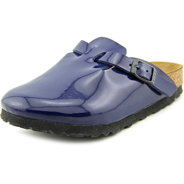 Birkenstock Nashua Youth N Open Toe Synthetic Blue Slides Sandal