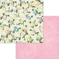 """Cottontail Double-Sided Cardstock 12""""X12""""-Cottontail"""