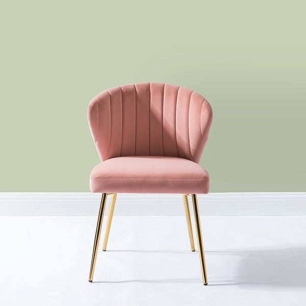 Luna Upholstered Side Chair with Tufted back. Opens flyout.