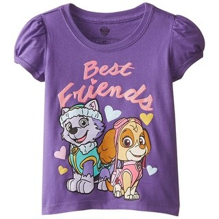 Nickelodeon Paw Patrol Girls' Best Friends Tee Shirt, 2T