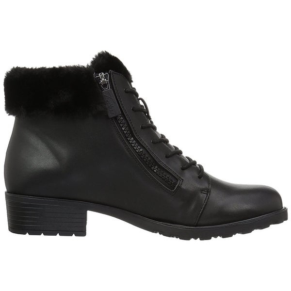 Trotters Womens Below Zero Leather Closed Toe Ankle Cold Weather Boots - 12