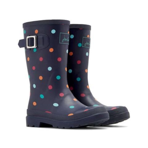 Kids Joules Girls navtspt Mid-Calf Slip On Rain Boots