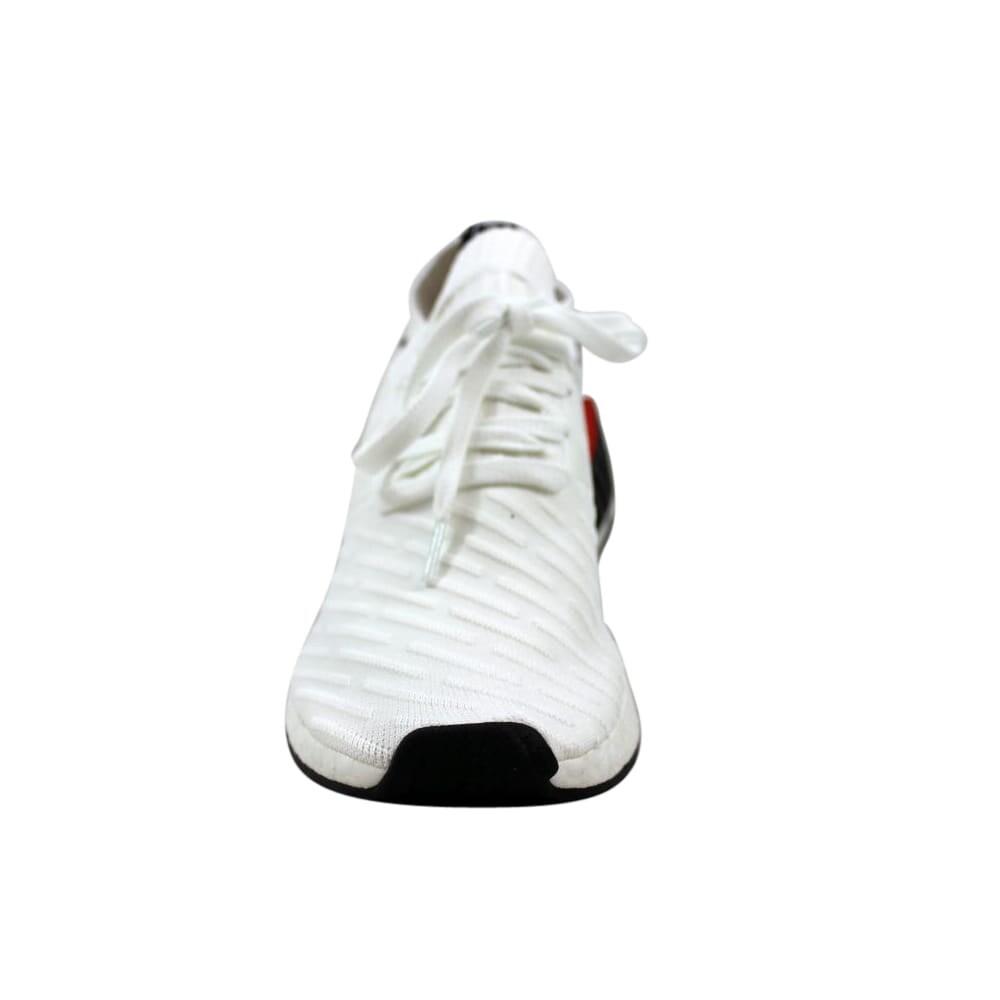 adidas NMD R2 Primeknit White Black BY3015 |
