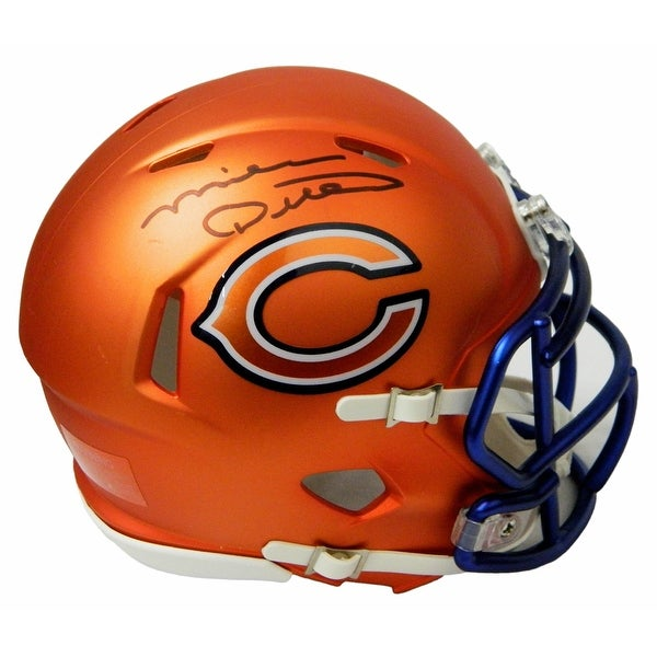 55ae28ac753 Shop Mike Ditka Chicago Bears Blaze Riddell Speed Mini Helmet - Free  Shipping Today - Overstock.com - 18507865