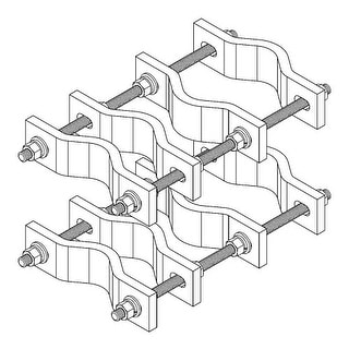 CommScope - Pipe to Pipe Clamp, Heavy Duty
