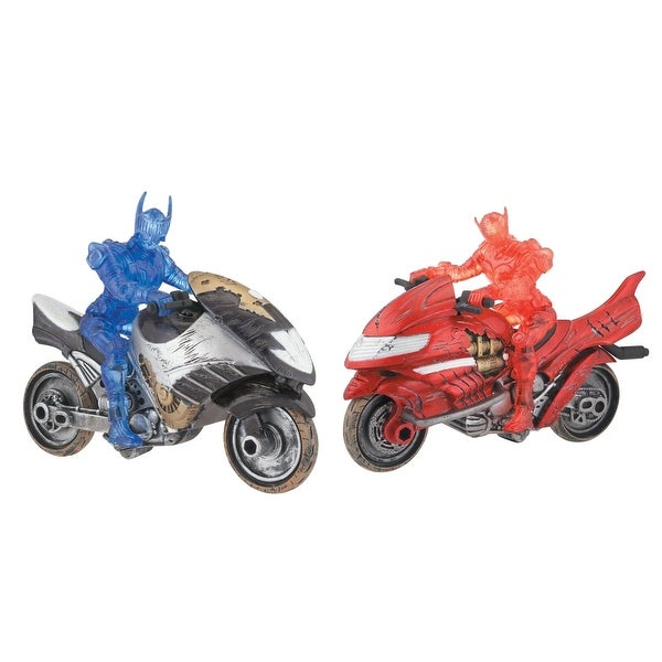 Kamen Rider Dragon Knight Dual Rider Set - Red - 5.0 in. x 3.0 in. x 5.0 in.