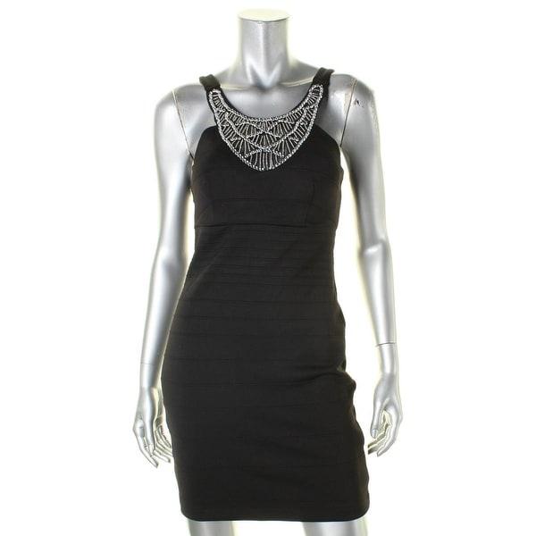 Shop City Studio Womens Semi-Formal Dress Jewel Neck Sheath - 7 - Free  Shipping On Orders Over  45 - Overstock - 18390402 f35e92218