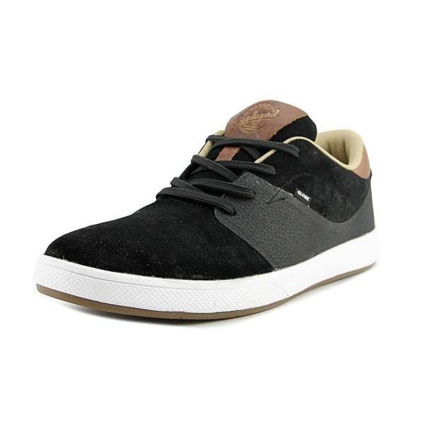 Globe Mahalo SG Men Round Toe Suede Black Skate Shoe