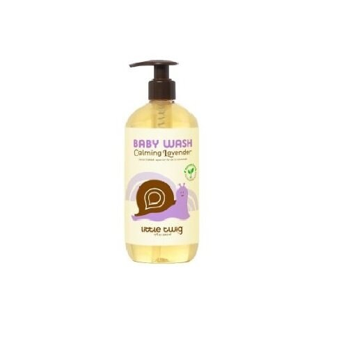 Little Twig Baby Wash Lavender, 8.5 Fluid Ounce