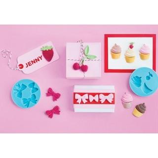 Martha Stewart Crafter's Clay Silicone Molds 4/Pkg-Sweet Shop