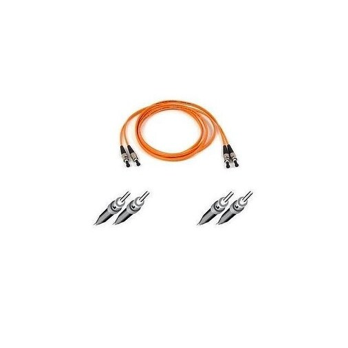 Belkin Components - Belkin Cables Patch Cable St Multi-Mode - Male - St Multi-Mode - Male - 10 Ft -