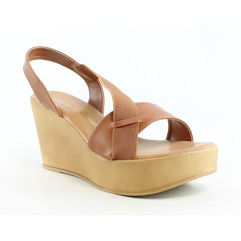 Athena Alexander Womens Koko Cognac Sandals Size 11