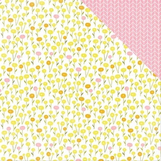 "Bloom Double-Sided Cardstock 12""X12""-Bloom"