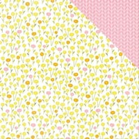 """Bloom Double-Sided Cardstock 12""""X12""""-Bloom"""