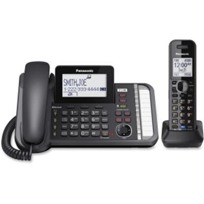 Panasonic Consumer - Kxtg9581b - 2Ln Corded Tele Pl Cordles Hs