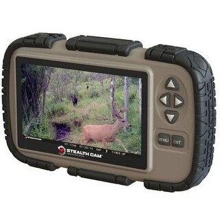 """Stealth Cam Sd Card Reader And Viewer With 4.3"""" Lcd Screen Stccrv43"""