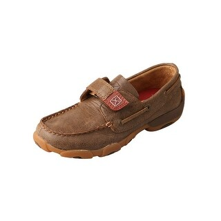 Twisted X Casual Shoes Boys Kids Girls Mocs Slip On Bomber CDM0003