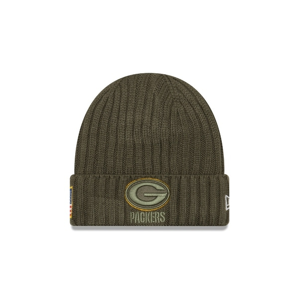 Green Bay Packers 2017 Salute to Service Knit Hat