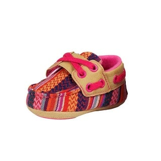 Blazin Roxx Western Shoes Girls Riley Deck Baby Bucker - multi-color