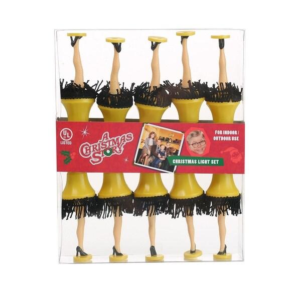 A Christmas Story Leg Lamp Light Set